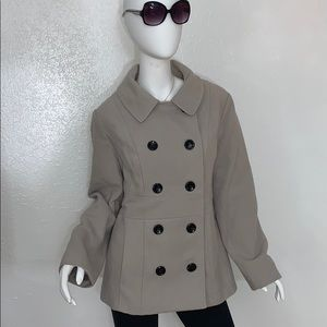 Style & Co. Petite Peacoat Size XL